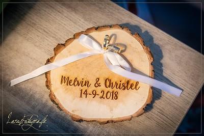 Huwelijk Melvin & Christel