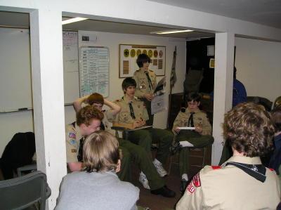 Troop Meeting - Jan 3