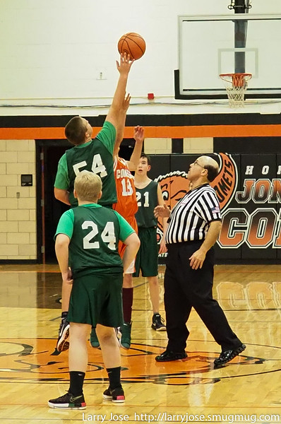 8th Grade (Orange) Boys vs Sand Creek