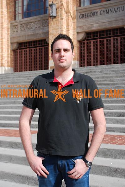 FALL RACQUETBALL Men's Singes B Recreational Champion Mauricio Mauro