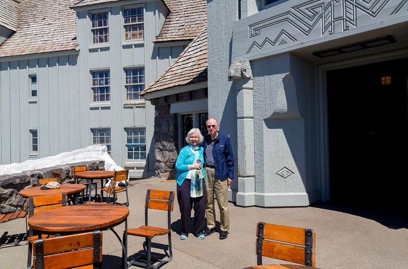 Carolyn and Jerry on the 2nd floor south balcony