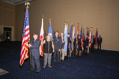 14-B Flag Ceremony
