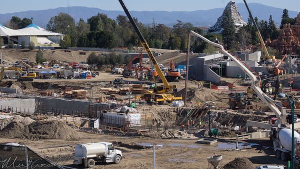 Disneyland Resort, Disneyland, Mickey and Friends Parking Structure, Mickey, Friends, Parking, Star Wars Land, Star Wars, Star, Wars, Rivers Of America, Rivers, River, America, Frontierland, Critter Country