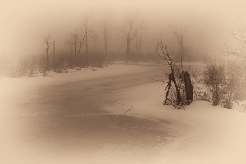 Jan. thaw at Constance Creek-b&w-antique_Jan 14-2013_01.jpg