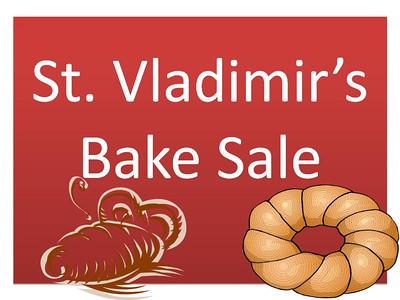 St. Vladimir's Bake Sale