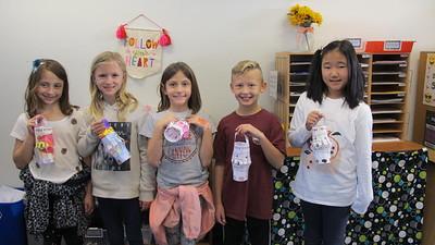PCY 3rd-Graders Make New Year Lanterns