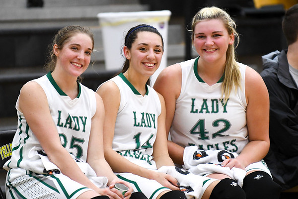 Hokes Bluff Lady Eagles v. Gaston, January 17, 2017