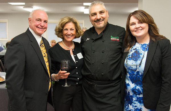 04/09/19 Wesley Bunnell   Staff New Britain Memorial - Sagariino Funeral Home hosted an after hours event on Tuesday evening for the New Britain Chamber of Commerce members. Funeral Director Donald D. Sagarino, L, Karen Sagarino, owner of Angelo's Market Joseph Tropea and Barbara Thompson from Sagarino's on the R.