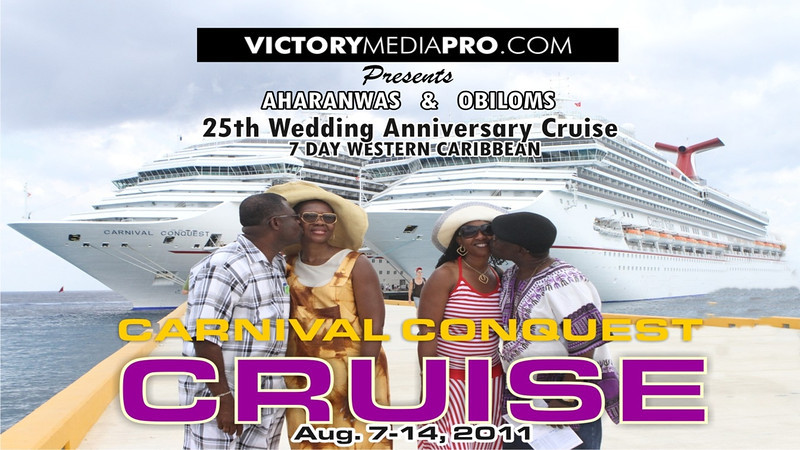 Aharanwa's and Obiloms' 25th Anniversary Cruise