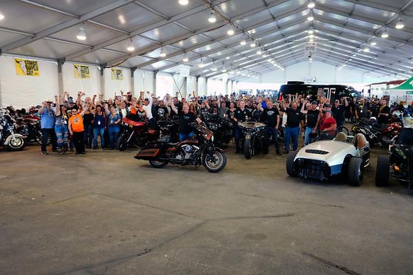 2020 Rusty Wallace Ride Group Photo
