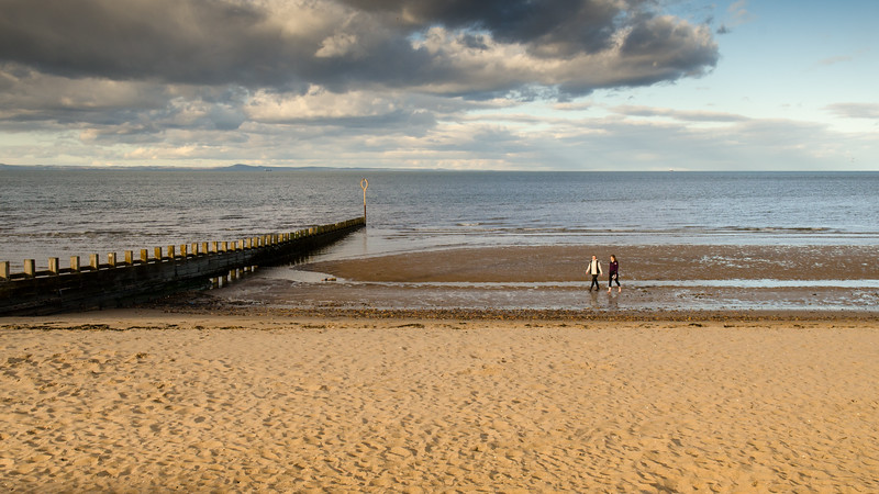 On Portobello Beach