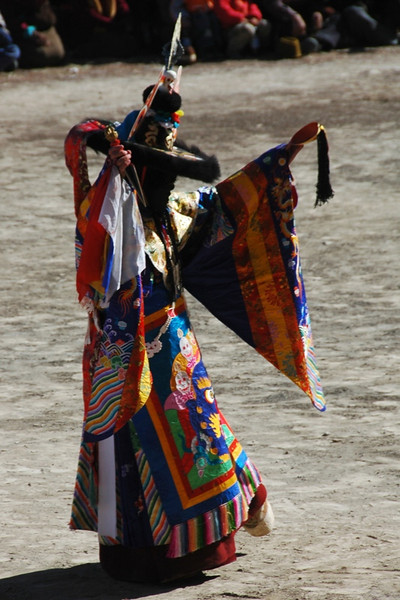 Tibetan Opera Character - Xiahe, China