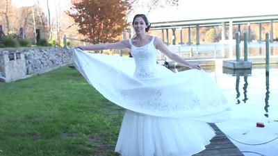 Amys Bridal Photoshoot Video