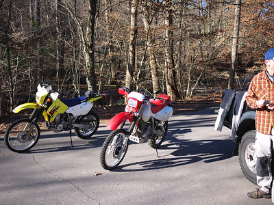 Pisgah Motorcycle Trip Nov 2010
