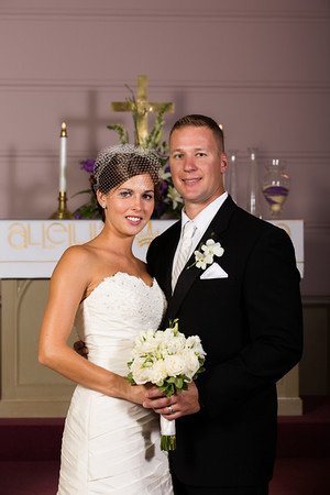 Nick and Jorie Wedding - Couple and Wedding Party