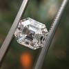 2.39ct Antique Asscher/Square Emerald Cut Diamond, GIA D/IF 40