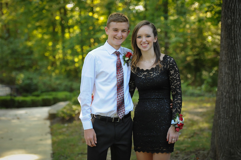 9-29-18 Eden Nygaard (15 - Sophmore) and Bailey Edwards (17 - Senior) Bluffton HS Homecoming-13.jpg