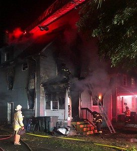 House fire - Lincoln Avenue Rochester, NY  -  9/25/20