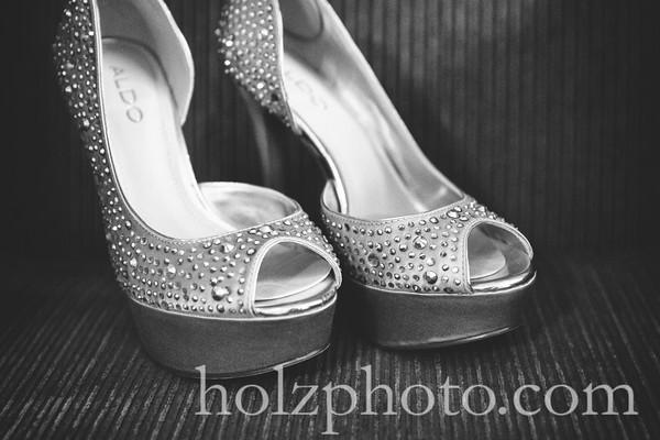 Heather & Matthew B/W Wedding Photos