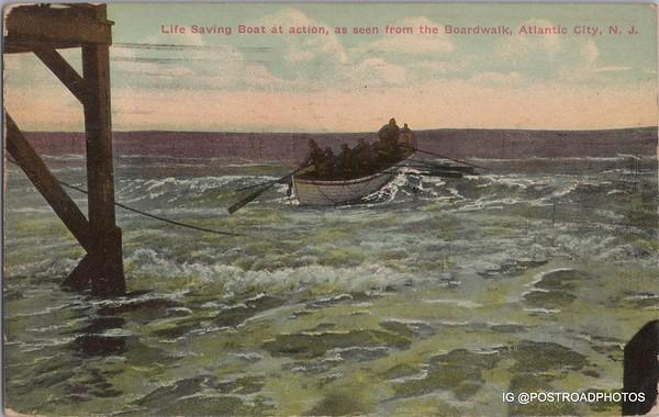 New Jersey Atlantic City Postcard Gallery