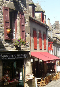 Cantal - Salers - Le bourg