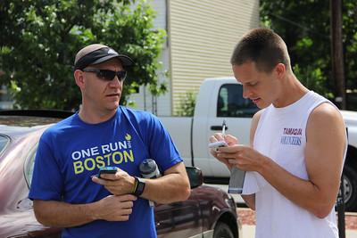 One Run For Boston Relay Marathon, Barnesville, Tamaqua, West Penn, East Penn (6-28-2013)