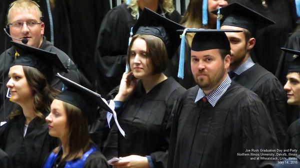 Joe Rusk Graduation ALL videos