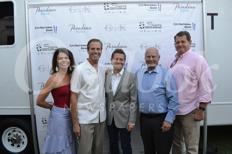 Pasadena Pops CEO Lora Unger, Joseph Pachorek, Michael Feinstein, Tom Girardi and Tom Layton