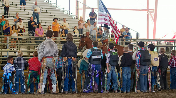 Junior Bullriding - National Day of the American Cowboy