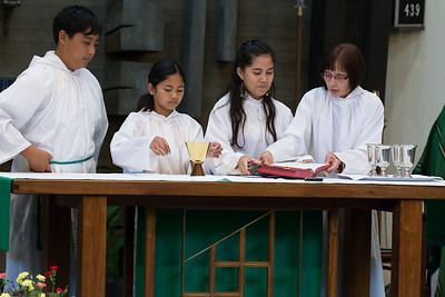 Sept. 29, 2013 - 11:30 Mass by Fr. Dave Gese