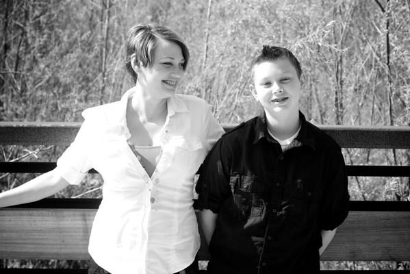 Rhonda and Tristen