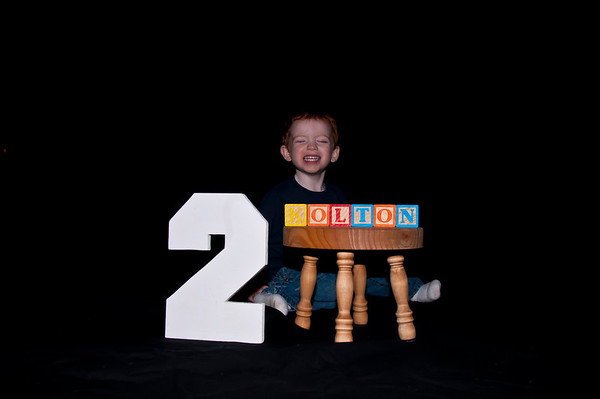 Kolton is 2
