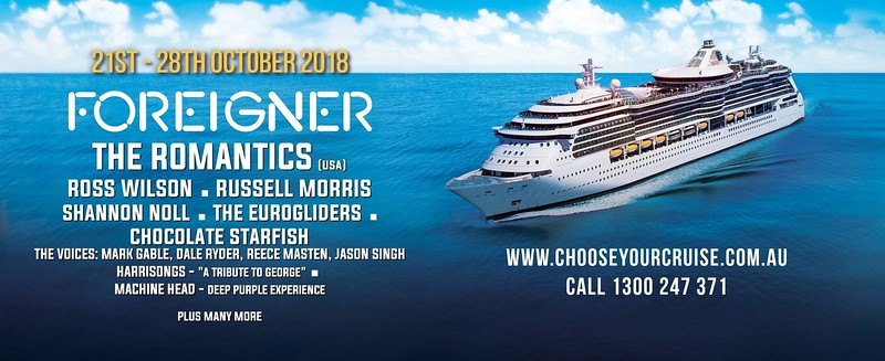 Rock The Boat - Radiance of the Seas (Oct 21 - 28)