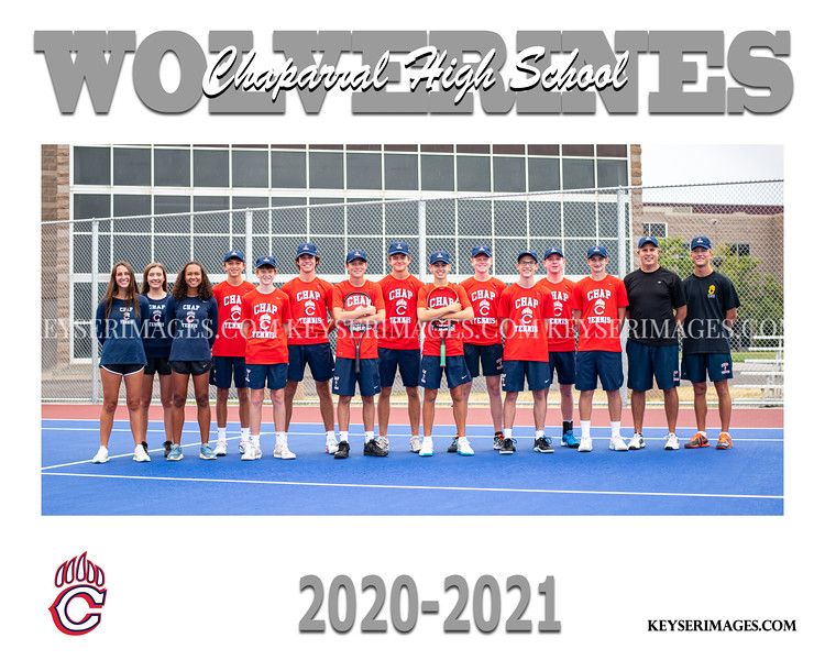 2020-2021 CHAPARRAL BOYS TENNIS