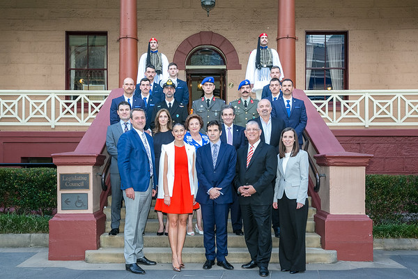 2018 Greek Presidential Guard Sydney Parliament House