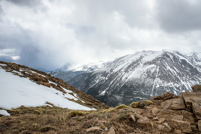 Snow Peak with Rocks in forefront.jpg