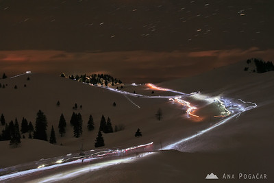 Midnight mass on Velika planina - Dec 24, 2008