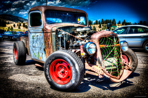 Mat & Dillon Rat Rod Truck