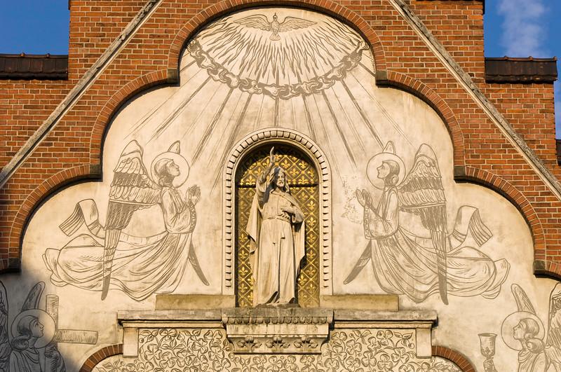 Poland, Cracow, church
