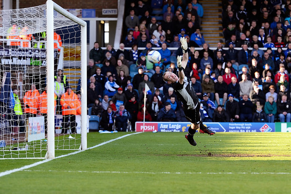 Peterborough United 1 - 0 Sheffield Wednesday  NO FOOTBALL IMAGES FOR SALE OR REPRODUCTION