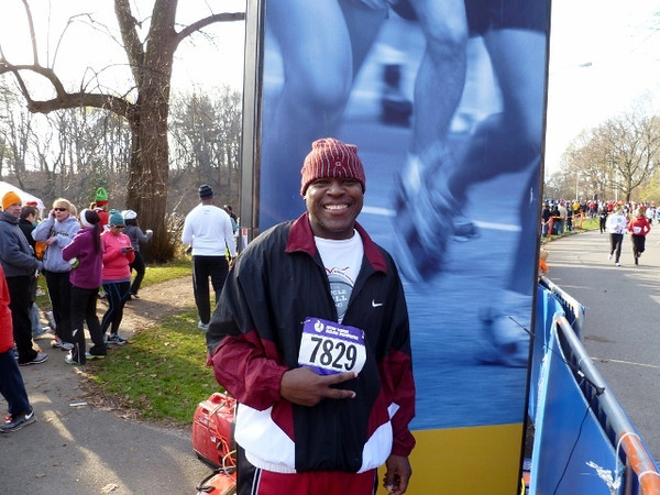I am also an Avid Marathon runner this is from the jingle bell jogg at prospect park.