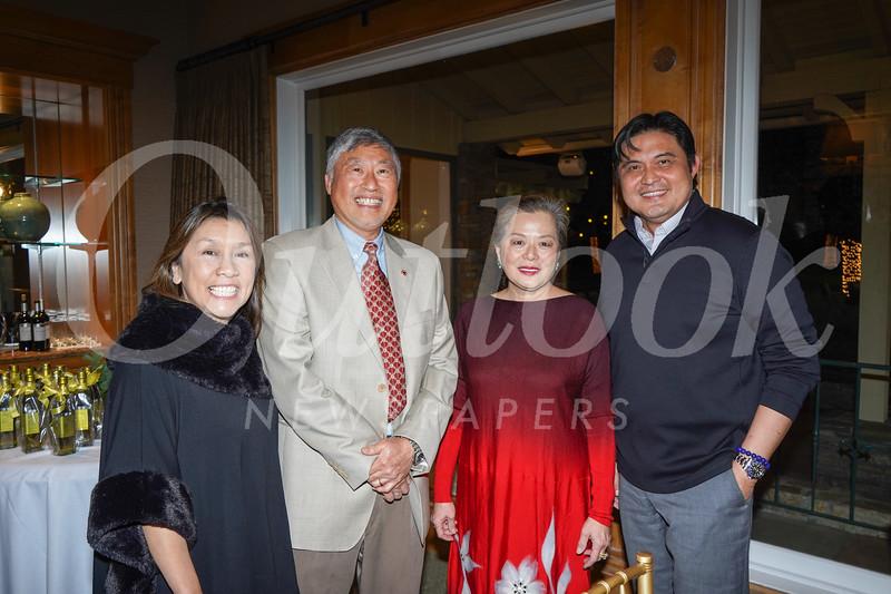Shelley Ryan, Isaac Hung, Celia Hung and Calvin Lo