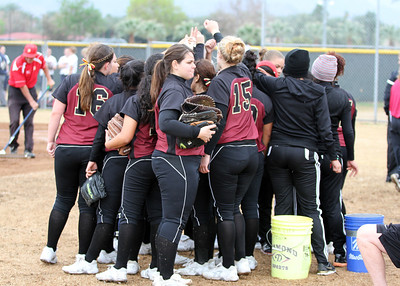 PCC Softball 1/25 at Desert Tournament