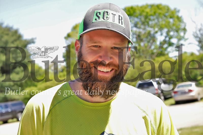 Morraine Ultra 50-mile winner Scott English of Mankins New York. Seb Foltz/Butler Eagle