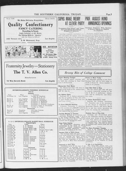 The Southern California Trojan, Vol. 7, No. 83, March 09, 1916