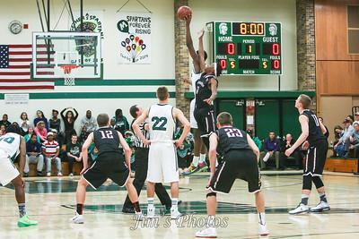 Madison Memorial Boys Basketball - Jan 17, 2014