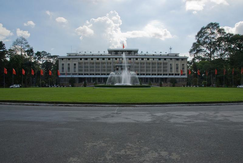 Reunification Palace in Saigon, Vietnam