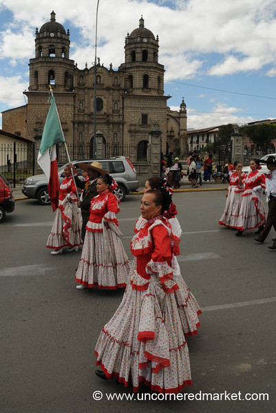 Folklore in the Shadow of the Church - Cajamarca, Peru