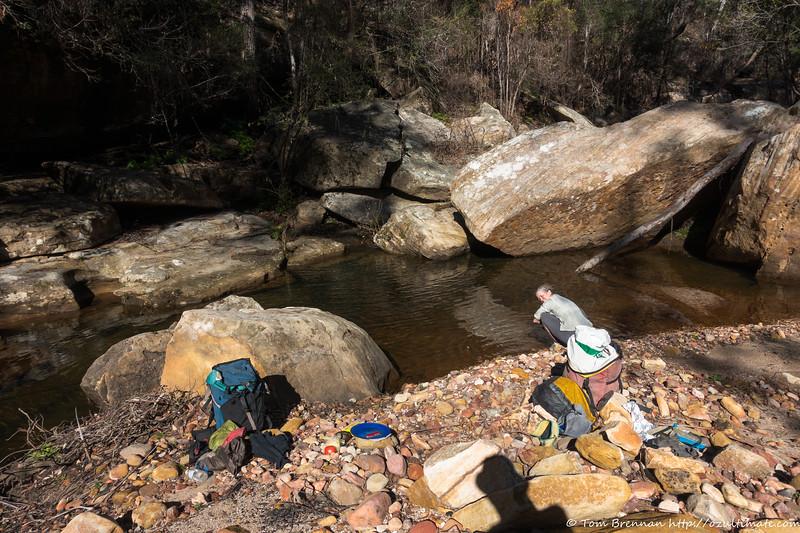 Rachel in Golden Moon Creek