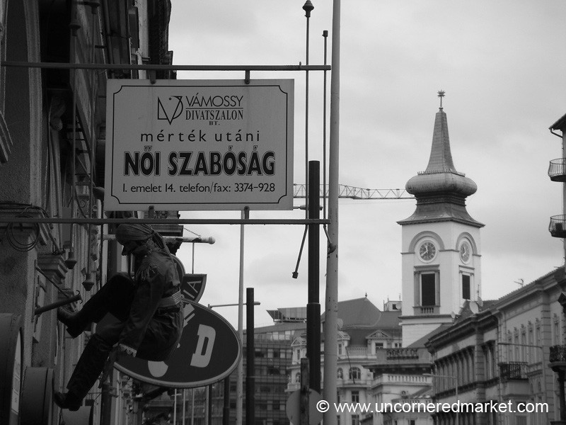 Shop Sign - Budapest, Hungary